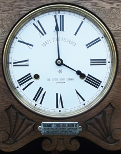 Bundy Clock Dial