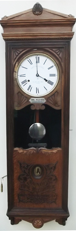 Bundy Clock Circa 1896