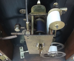 Bundy Clock Mechanism